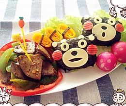 熊本熊先生与辣炒羊肝的做法
