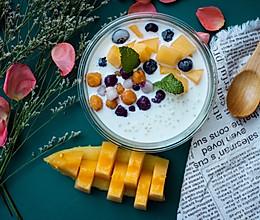 #硬核菜谱制作人#夏日冰镇甜品之蜜瓜椰香西米露的做法