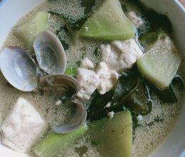 萝卜海带豆腐汤的做法