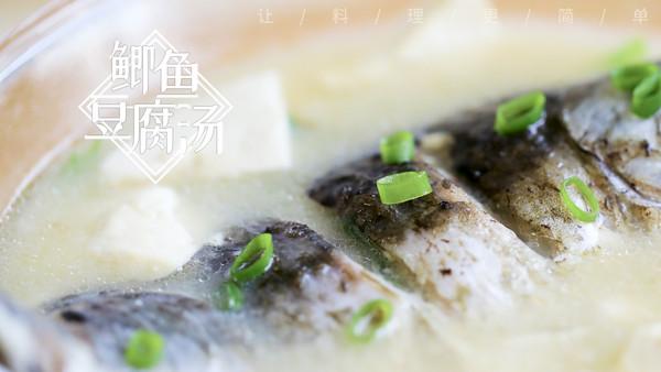 鲫鱼豆腐汤,汤白味鲜很重要的做法