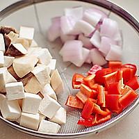 杏鲍菇黑椒牛肉粒的做法图解3