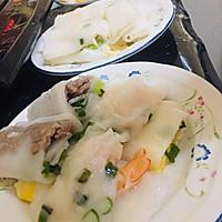广式蒸肠粉(鸡蛋肠,鲜虾肠和牛肉肠)的做法图解16