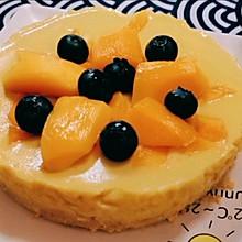 #我们约饭吧#芒果慕斯蛋糕