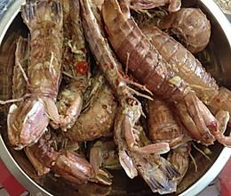 香蒜濑尿虾的做法