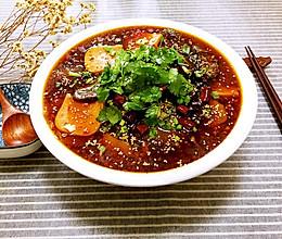 四川家乡菜-川味毛血旺的做法