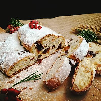 封存一周的美味——圣诞史多伦面包