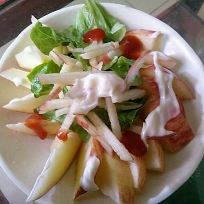 苹果沙拉的做法 步骤2