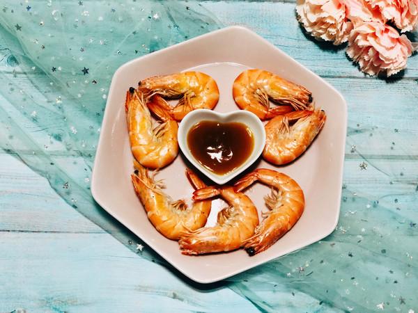 白灼厄瓜多尔虾