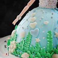 海洋芭比蛋糕的做法图解17