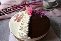 镜面巧克力乳酪慕斯蛋糕的做法