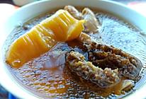 羊菌肚鱼胶鸡腿汤的做法