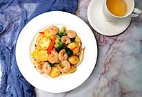 新手宴客菜——三鲜日本豆腐的做法