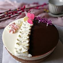 镜面巧克力乳酪慕斯蛋糕