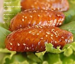 芝香蜜汁鸡翅-----美丽厨娘的做法