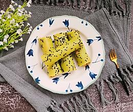 #秋天怎么吃#青瓜肉松卷的做法