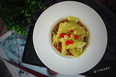 凉拌水晶莴苣
