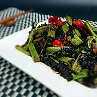 减脂餐低卡素食-梅干菜烧豆角-蜜桃爱营养师私厨-减肥健身