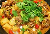 排骨炖山药火锅(简单轻松在家做食补美味)的做法
