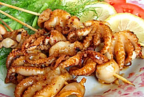 辣烤章鱼串的做法