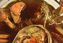 螃蟹爬老酒的做法