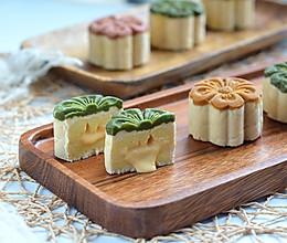"""#""""佳""""节好滋味#   流心豆沙米月饼的做法"""