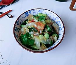 中华风水母沙拉的做法