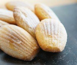 法国传统点心玛德莲蛋糕的做法
