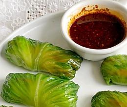 秋食:减脂蔬菜卷的做法