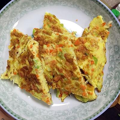 鸡蛋早餐饼