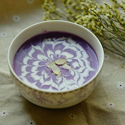 杏仁紫薯奶露