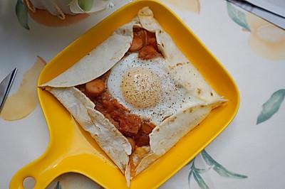 减脂快手北非蛋可丽饼