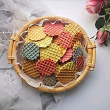 五彩薄脆饼 #520,美食撩动TA的心!#