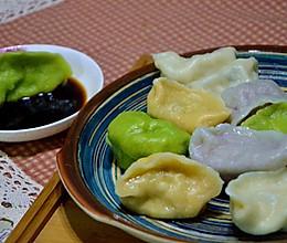 春天的味道之彩色饺子的做法