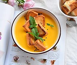 加料版奶油南瓜浓汤的做法