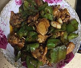 青椒爆炒豉油鸡翅的做法
