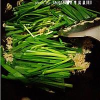 养生菜:虾皮韭菜的做法图解7