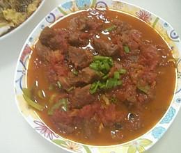 番茄烧牛腩的做法