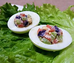 宝宝不爱吃蔬菜?香甜可口的营养沙拉大口吃!的做法