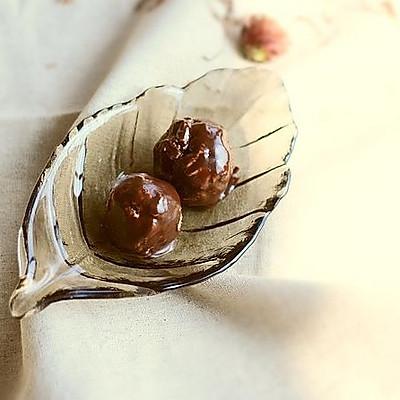 巧克力棉花糖酥饼球