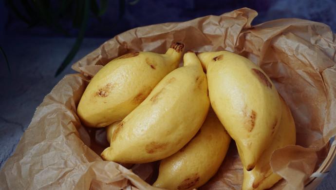 象形小米蕉馒头