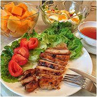 超简单超好吃的香煎鸡胸肉#急速早餐#的做法图解6