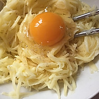 (电饼档)鸡蛋土豆丝饼的做法图解4