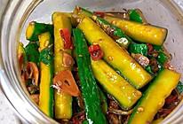 清爽解腻腌黄瓜的做法