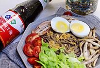 #合理膳食 营养健康进家庭#沙拉荞麦凉面   轻食减脂的做法