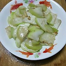 蒜蓉炒蒲瓜(葫芦瓜)
