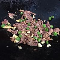 泡椒藕带炒牛肉的做法图解7
