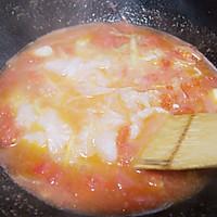 #鲜动生活越南龙利鱼柳试吃#番茄鱼片汤的做法图解11