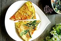 什锦蔬菜鸡蛋饼#急速早餐#的做法
