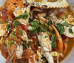 青蟹番茄汤的做法