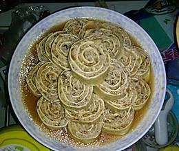 蒸干豆腐卷的做法